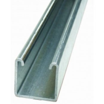 41 x 41mm Plain Channel 3m or 6m