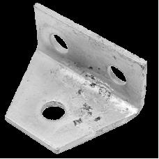 Delta Plate Right angle 1/2 hole