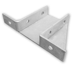 Double channel delta plate