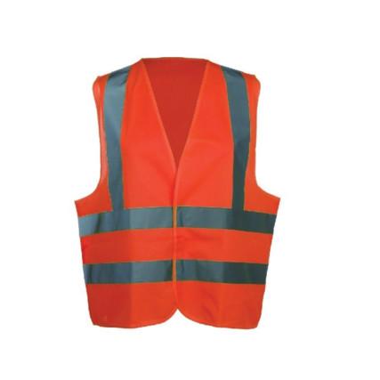 hi visibility waistcoat orange