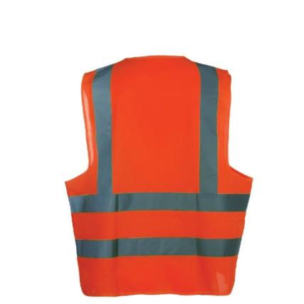 hi visibility vest orange