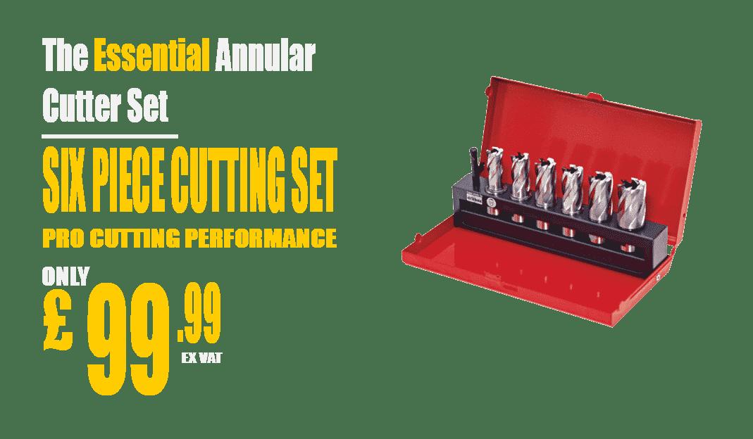 annular cutting set